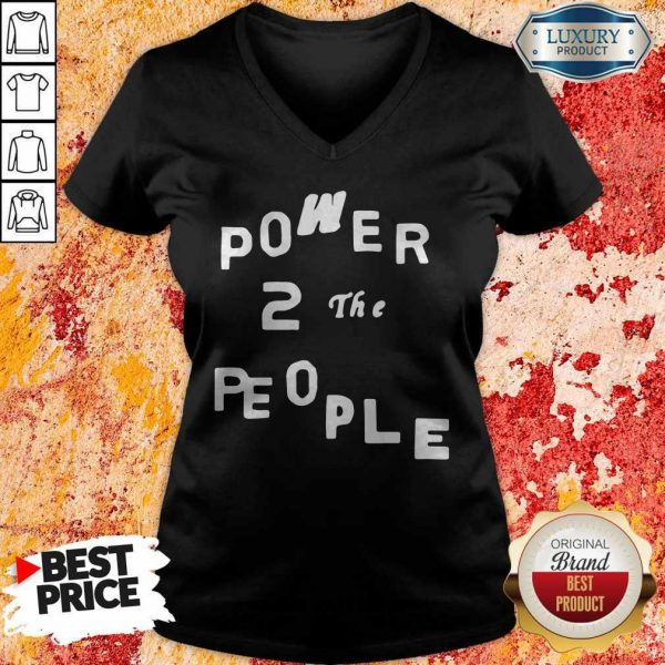 Official Power 2 The People V-neck