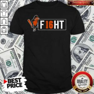 Premium Orioles And Trey Mancini Partner On F16HT Shirt