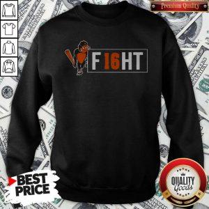 Premium Orioles And Trey Mancini Partner On F16HT Sweatshirt