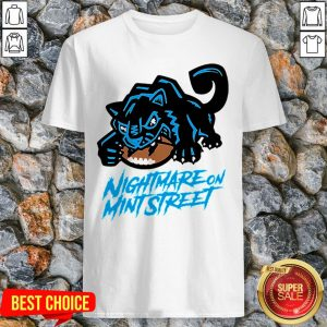 Rip Nightmare On Mint Street Shirt Carolina Panthers Shirt