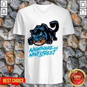 Rip Nightmare On Mint Street Shirt Carolina Panthers V-neck