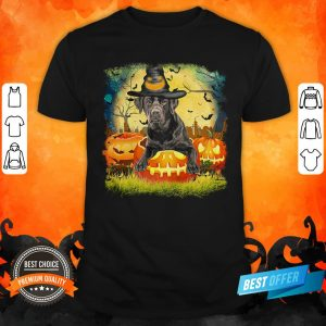 Awesome Labrador Witch Halloween Shirt