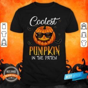 Coolest Pumpkin In The Patch Halloween Costume Gift T-Shirt
