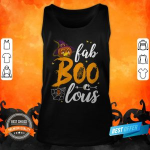 Fabulous Funny Boo Ghost Halloween Costume Women's Vintage Sport Tank Top