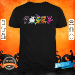 Grateful Dead Dancing Bears Halloween Shirt