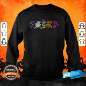 Grateful Dead Dancing Bears Halloween Sweatshirt