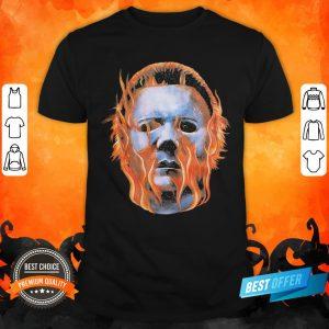 Halloween 2 Michael Myers Flames Shirt