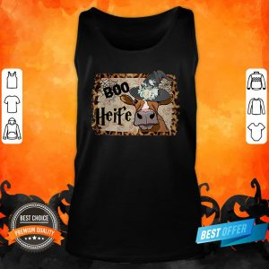 Halloween Boo Heifer Lover Gift Tank Top