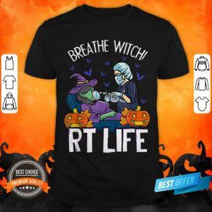 Halloween Breathe Witch RT Life Shirt