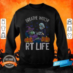Halloween Breathe Witch RT Life Sweatshirt
