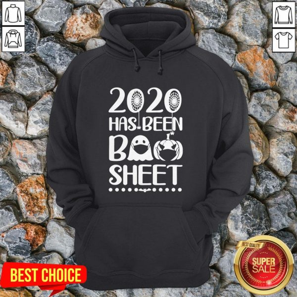 Halloween Ghost Mask 2020 Has Been Boo Sheet Hoodie