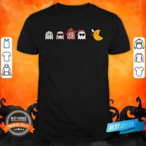 Halloween Horror Characters Chibi Game Shirt