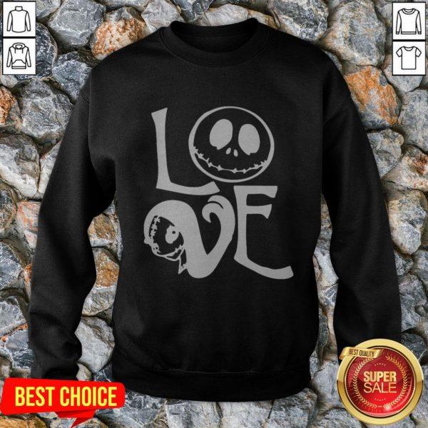 Halloween Love Jack Skellington Sweatshirt