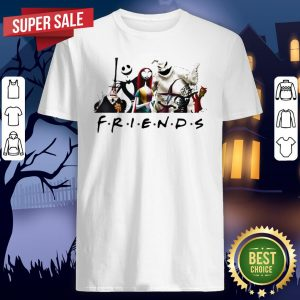 Halloween Nightmare Characters Friends Shirt