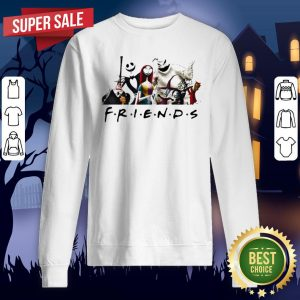 Halloween Nightmare Characters Friends Sweatshirt