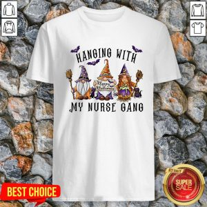 Hanging With My Nurse Gang Happy Halloween 2020 T-Shirt