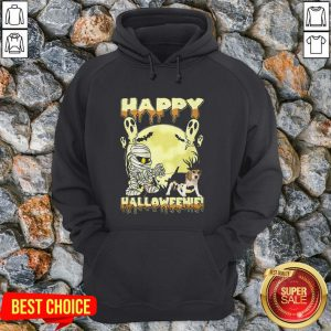 Happy Halloweenie Ghost Dog Hoodie