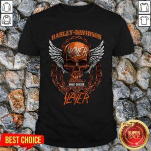 Harley Davidson Motorcycles Slayer Shirt