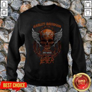 Harley Davidson Motorcycles Slayer Sweatshirt