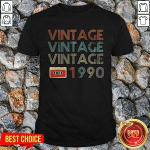 Official Vintage Vintage Vintage 1990 Shirt