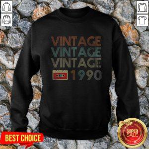 Official Vintage Vintage Vintage 1990 Sweatshirt