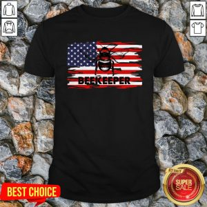 Vip Patriotic Beekeeper American Flag 4th Of July Gift Bee Shirt