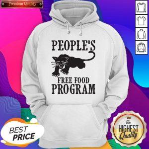 Peoples Free Food Program Black Panther Hoodie