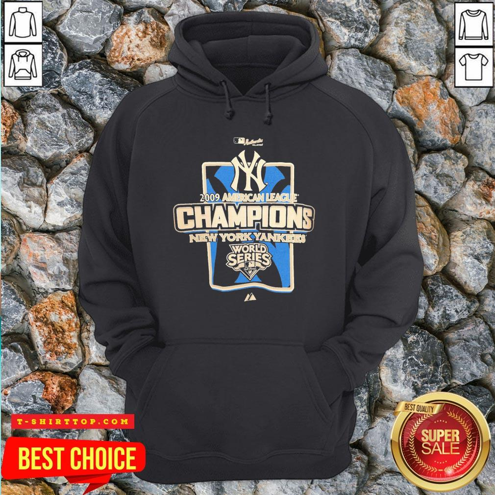 New York Yankees MLB 2009 Champions NYC Hoodie