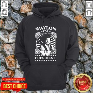 Awesome Waylon For President Us Flag Hoodie