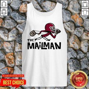 Premium The Mailman Tank Top - Design by T-ShirtTop.com
