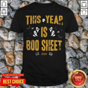 This Year Is Boo Sheet Halloween Shirt