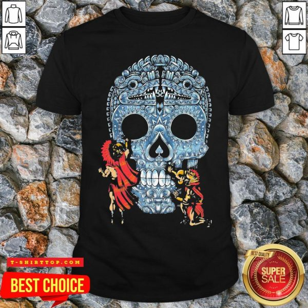 Premium Native Sugar Skull Mexico Shirt
