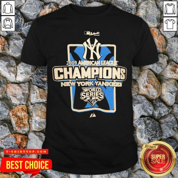 New York Yankees MLB 2009 Champions NYC Shirt