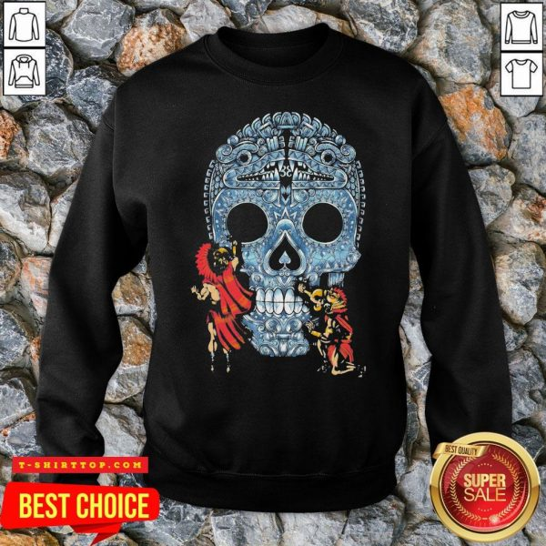 Premium Native Sugar Skull Mexico SweatShirt