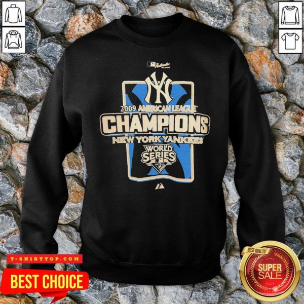 New York Yankees MLB 2009 Champions NYC SweatShirt