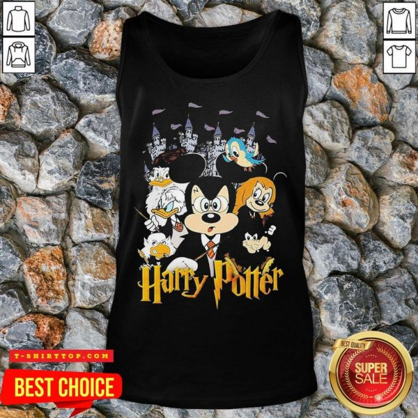 Mickey Mouse And Friends Harry Potter Halloween Tank Top