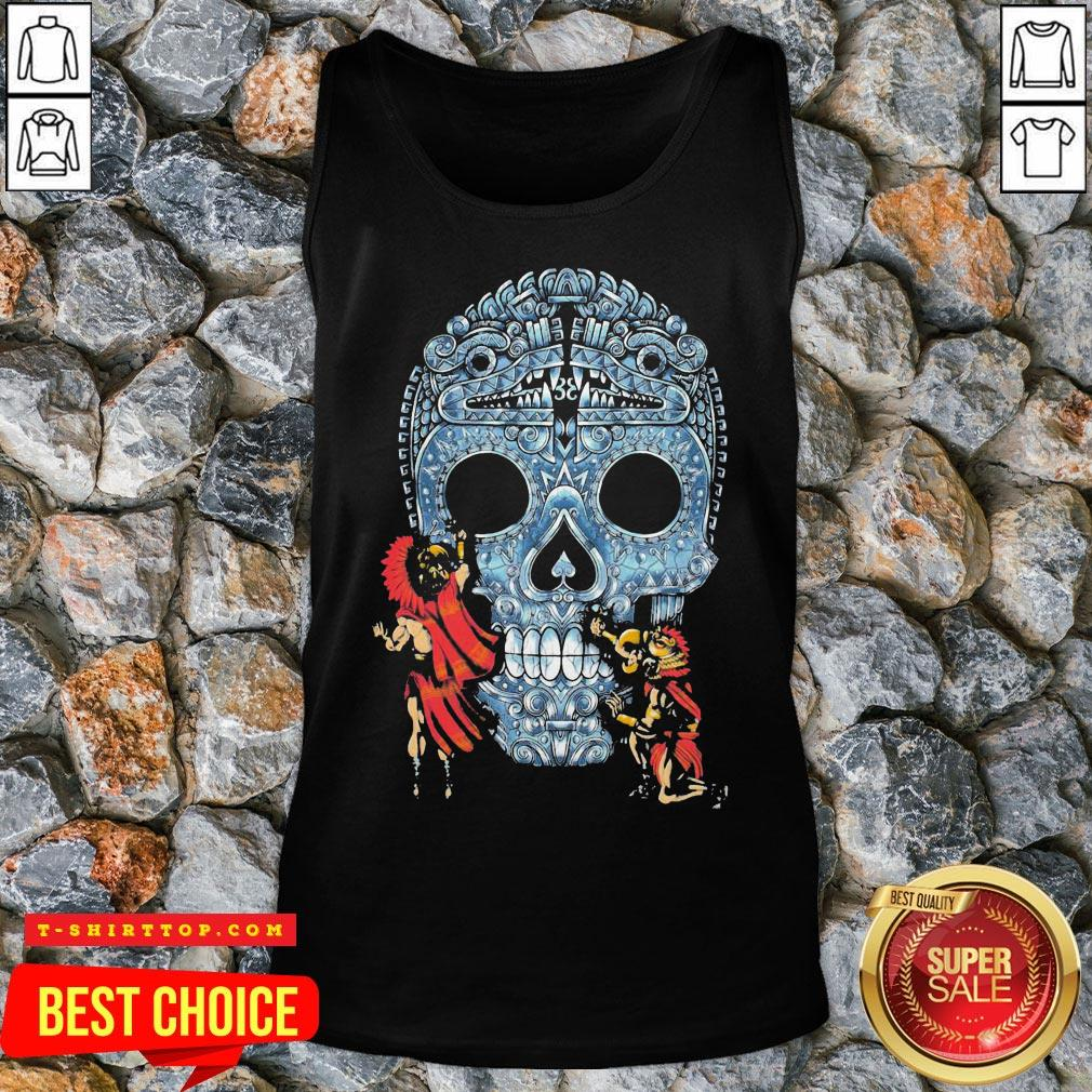 Premium Native Sugar Skull Mexico Tank Top