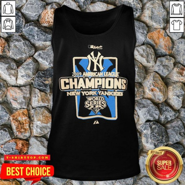 New York Yankees MLB 2009 Champions NYC Tank Top