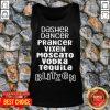 Dasher Dancer Prancer Vixen Moscato Vodka Tequila Blitzen Tank Top