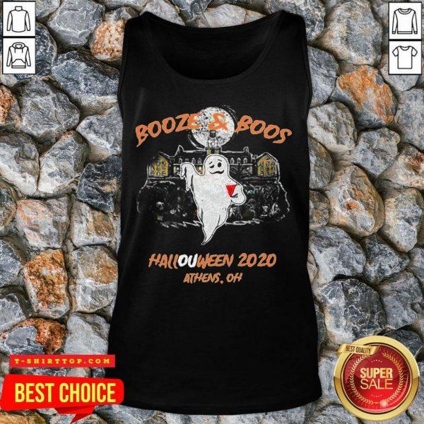 Booze & Boos Halloween 2020 Athens Oh Tank Top