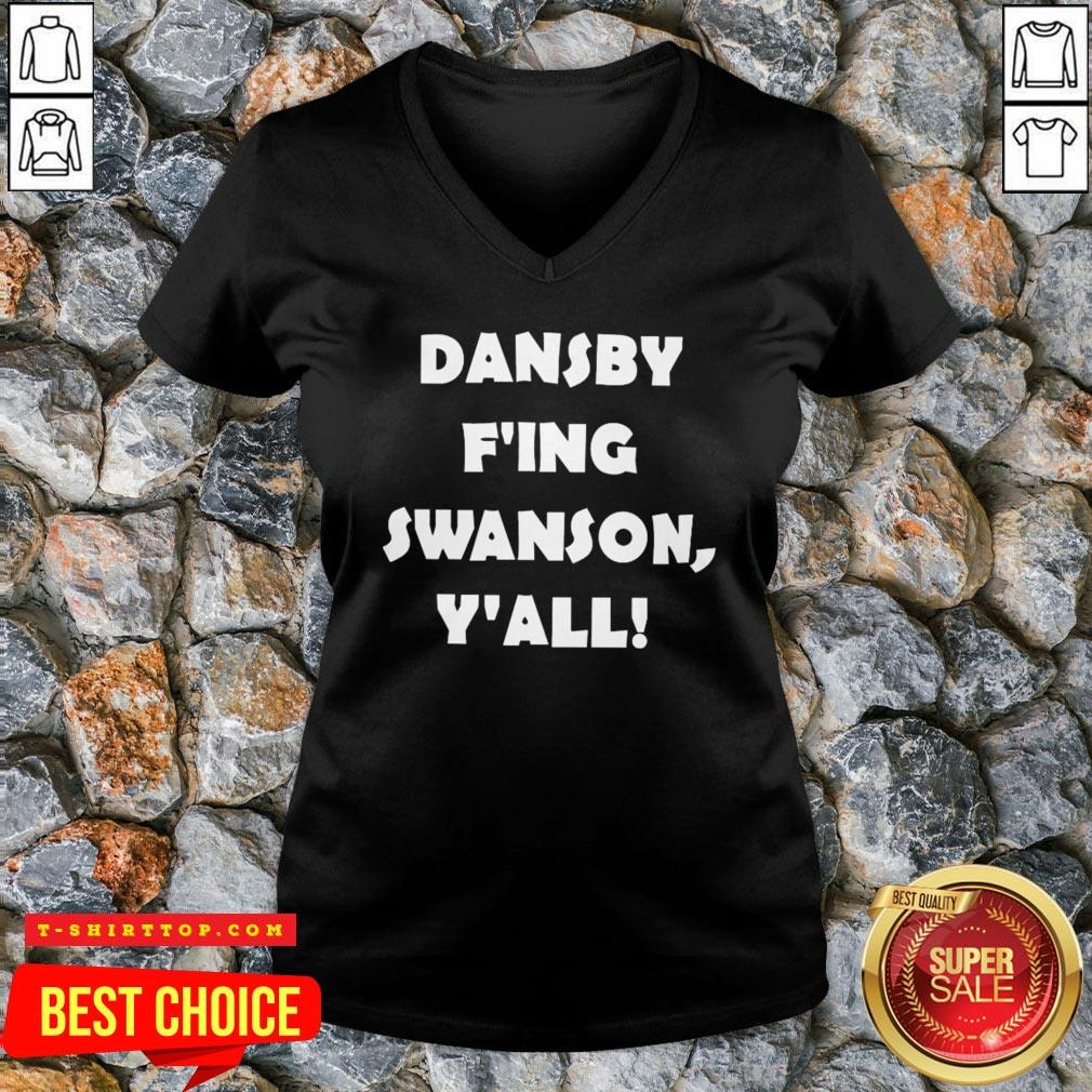 Premium Dansby F'ing Swanson Y'all V-neck
