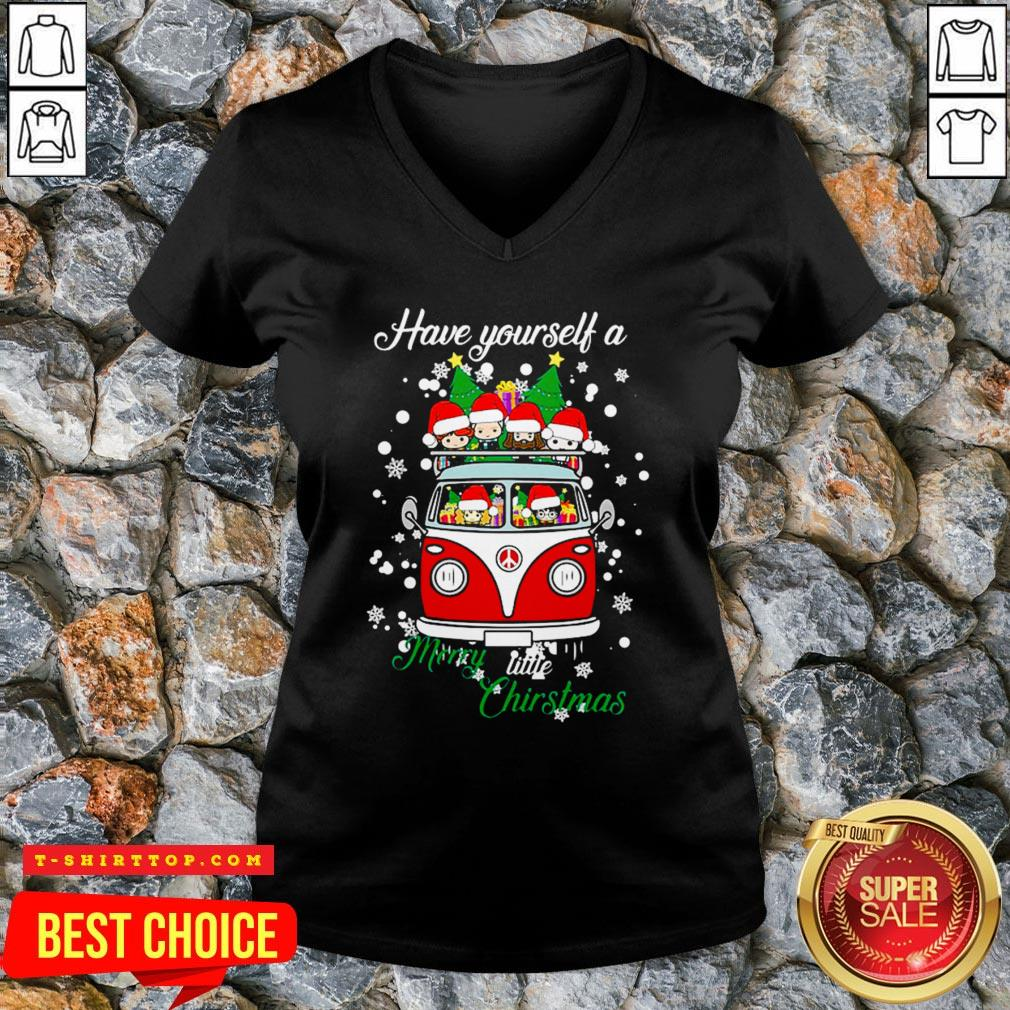 Chibi Have Yourself A Merry Little Christmas V-neck