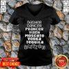 Dasher Dancer Prancer Vixen Moscato Vodka Tequila Blitzen V-neck