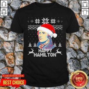 Good Alexander Hamilton Happy Christmas Ugly Shirt