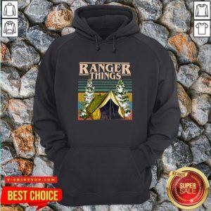Good Camping Ranger Things Stranger Things Vintage Hoodie