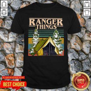 Good Camping Ranger Things Stranger Things Vintage Shirt