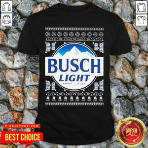 Busch Light 2020 Ugly Christmas Shirt - Design by Tshirttop