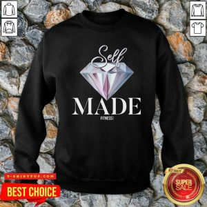 Diamond Self Made Fitness Let Go SweatShirt - Design by Tshirttop