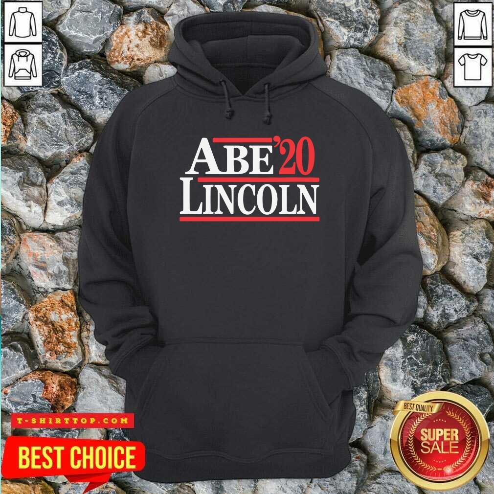 Official Abe Lincoln 2020 Election Hoodie - Design by Tshirttop