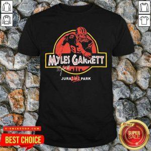 Nice Jurassic Myles Garrett Tee Shirt - Design by Tshirttop